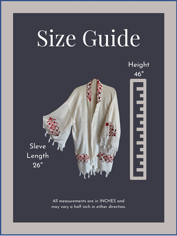pavotail-caroline-red-organic-bamboo-kimono-robe-07-sizeguide