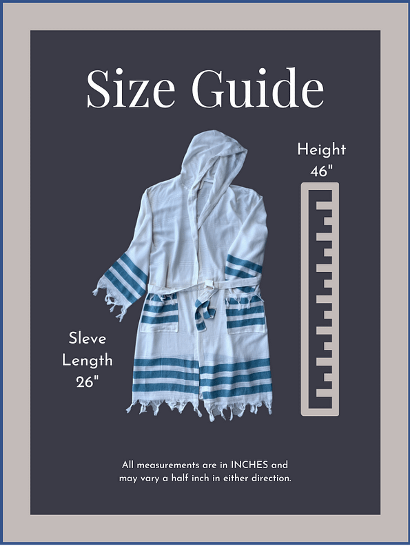 pavotail-shenandoah-turquiose-hooded-mens-bathrobe-07-sizeguide