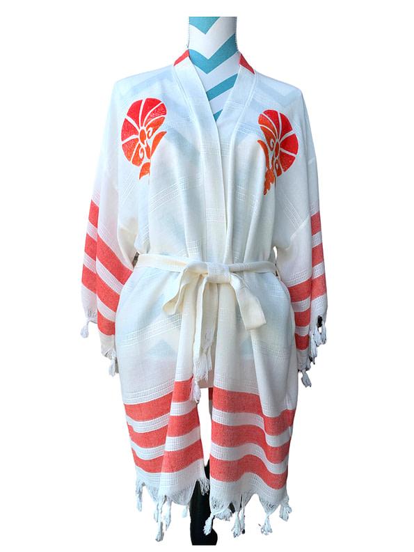pavotail-maddison-red-salmon-bamboo-kimono-robe-02-front