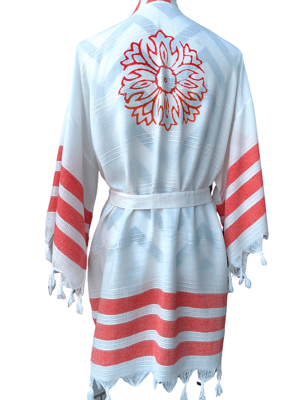 pavotail-maddison-red-salmon-bamboo-kimono-robe-03-back