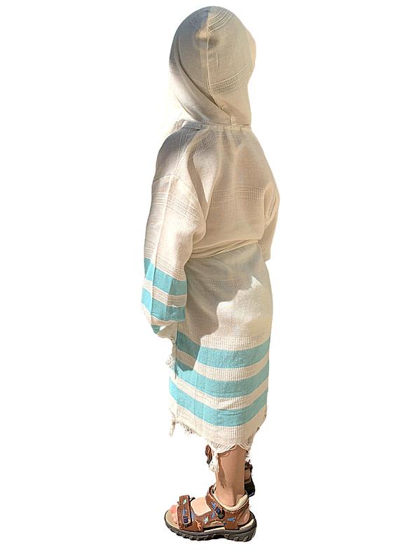 pavotail-chester-blue-hooded-kids-bathrobe-03-back