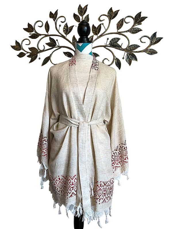 pavotail-wolf-trap-red-linen-kimono-robe-02-front