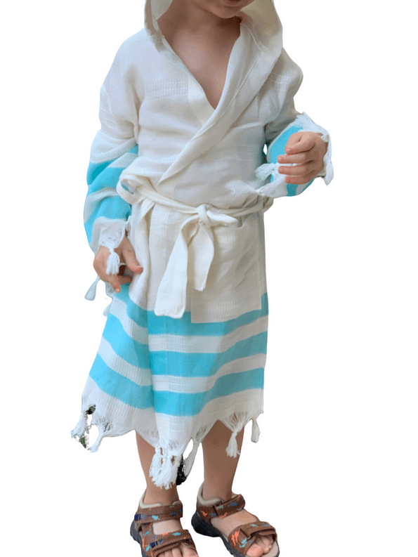 pavotail-chester-blue-hooded-kids-bathrobe-02-front