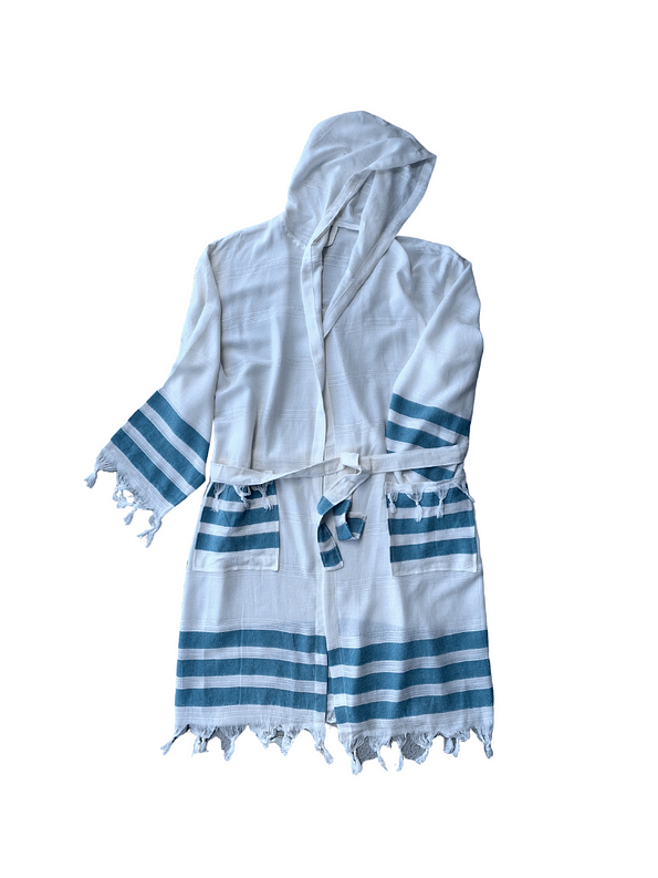 pavotail-shenandoah-turquiose-hooded-mens-bathrobe-02-front